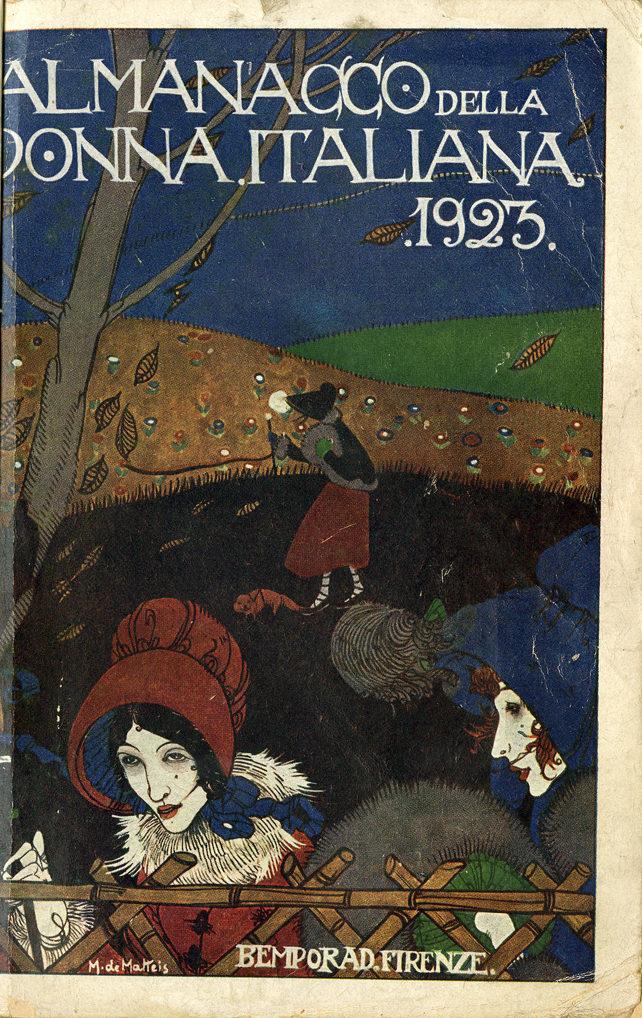 Almanacco della donna italiana 1923