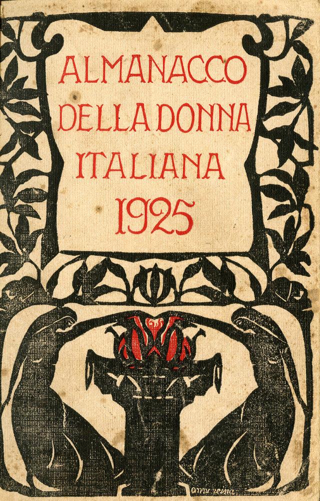 Almanacco della donna italiana 1925