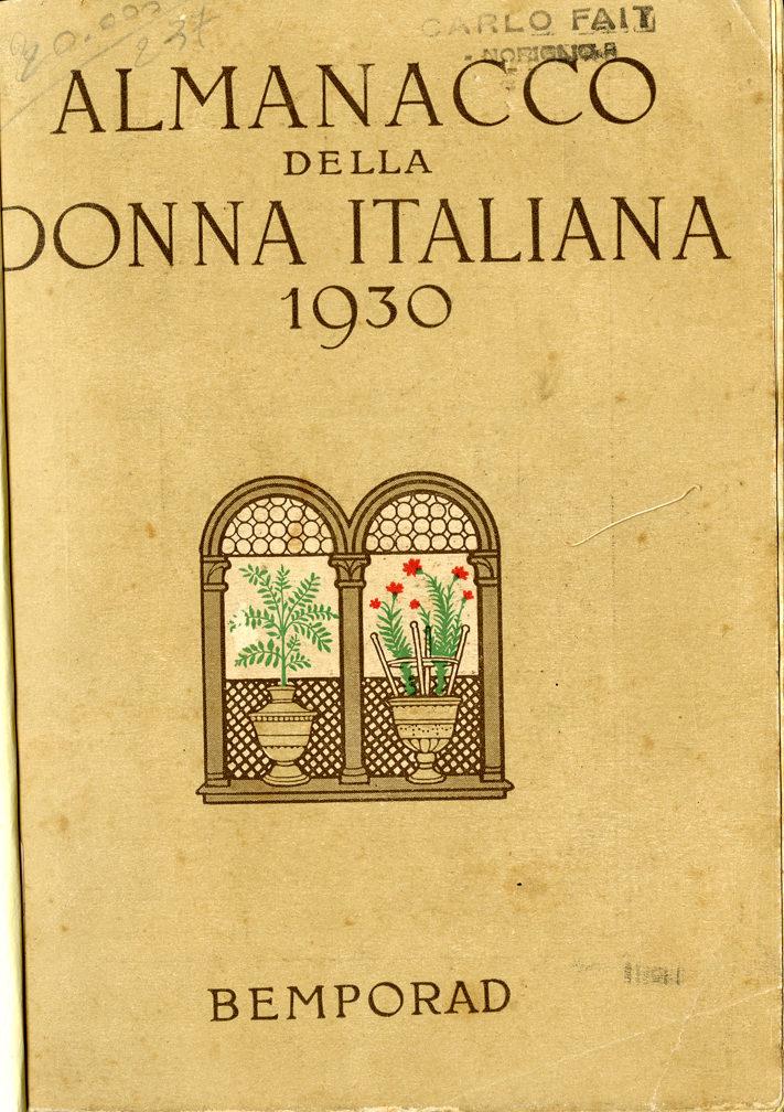 Almanacco della donna italiana 1930