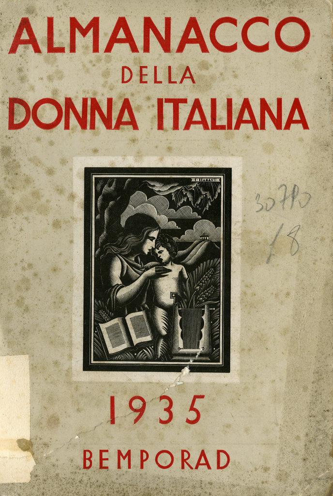 Almanacco della donna italiana 1935