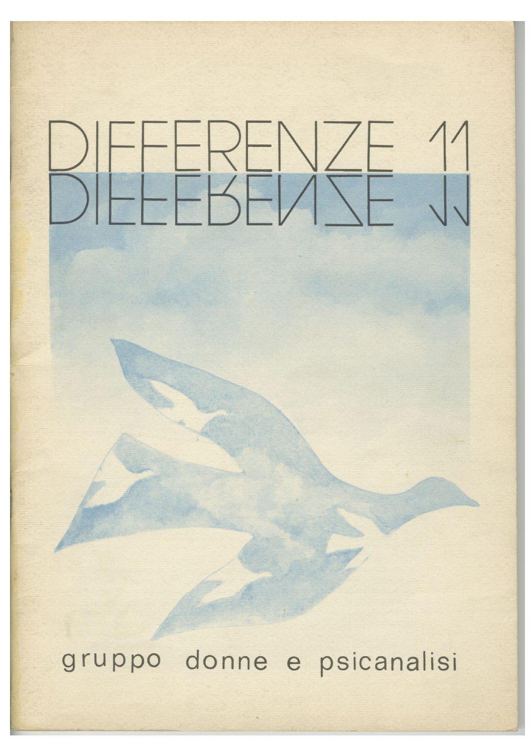 Differenze 1980, n. 11