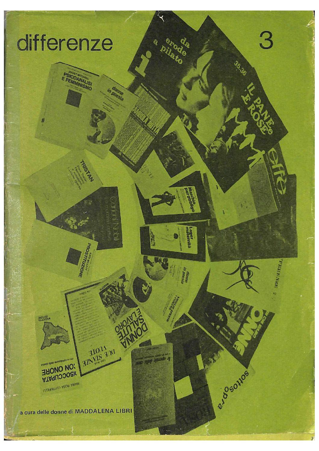 Differenze 1977, n. 3