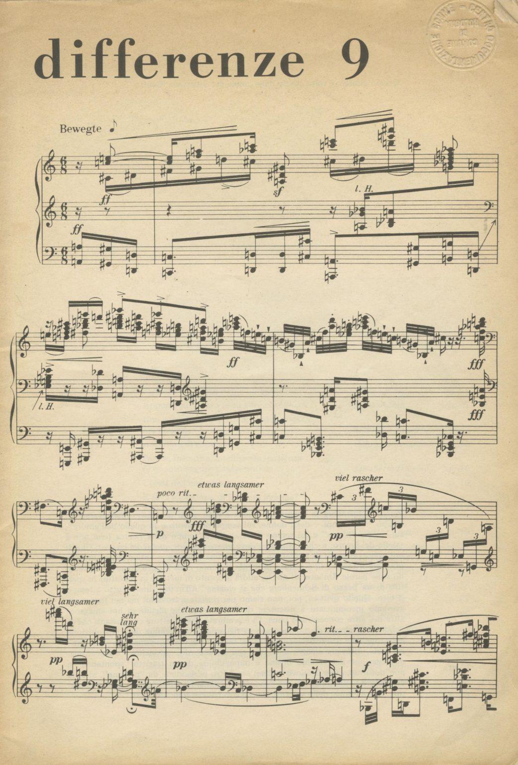 Differenze 1978, n. 9