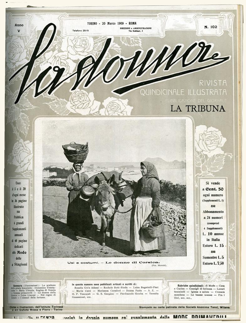 La donna. Rivista quindicinale illustrata 1909, n. 102