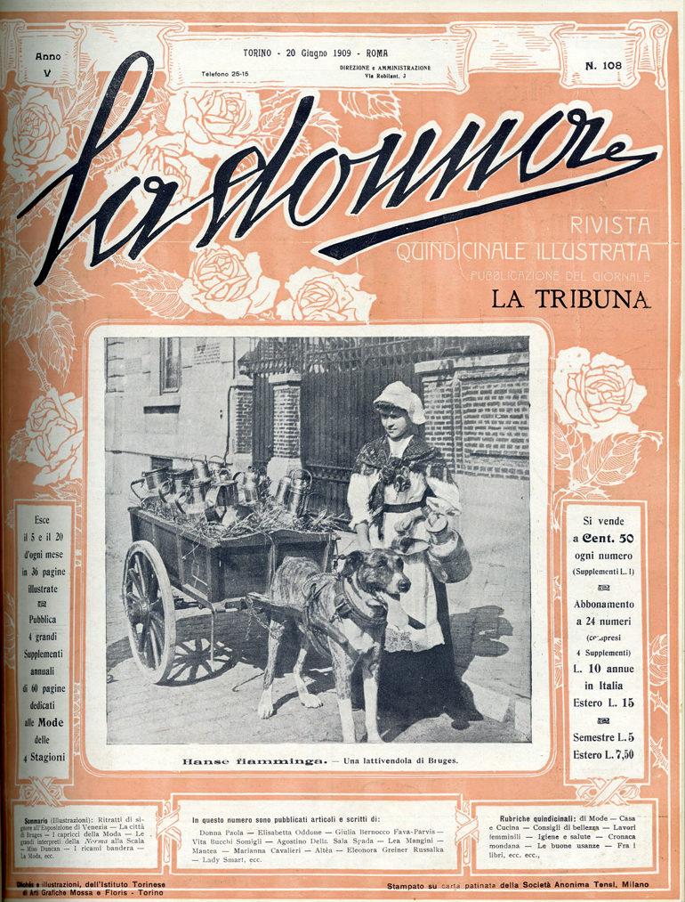 La donna. Rivista quindicinale illustrata 1909, n. 108