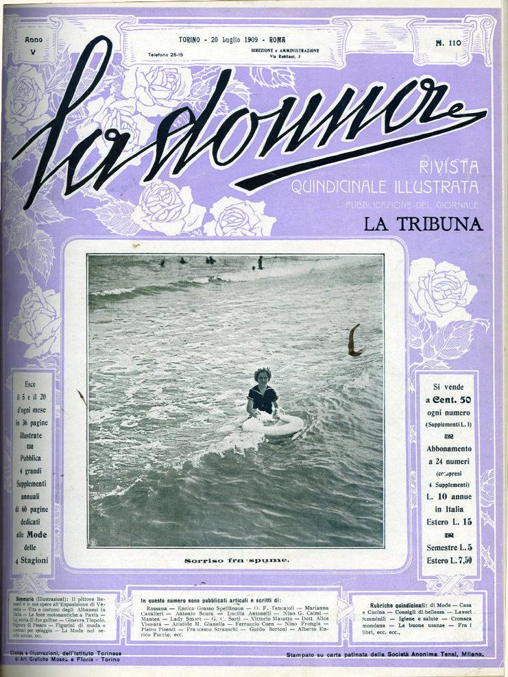 La donna. Rivista quindicinale illustrata 1909, n. 110