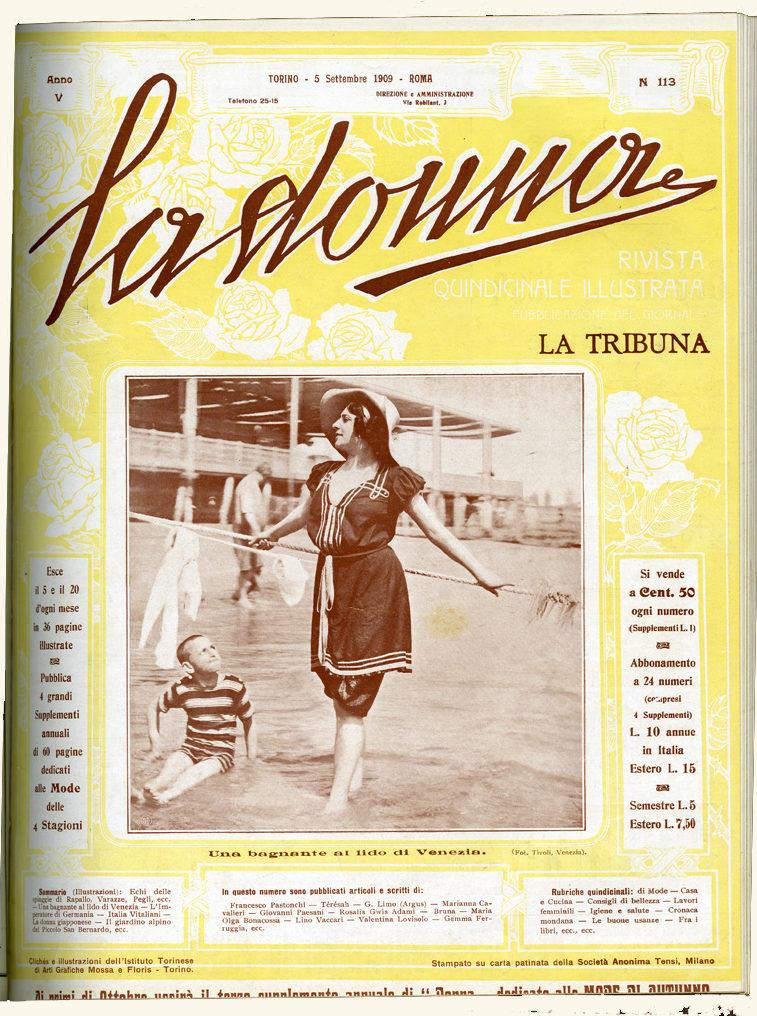 La donna. Rivista quindicinale illustrata 1909, n. 113