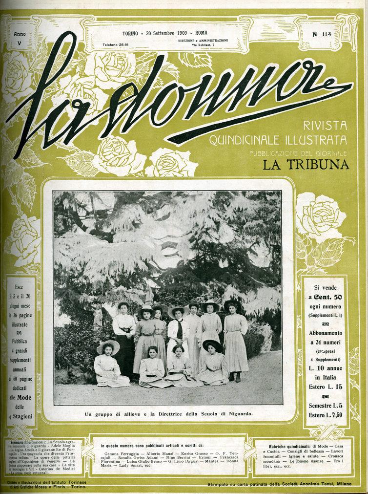La donna. Rivista quindicinale illustrata 1909, n. 114
