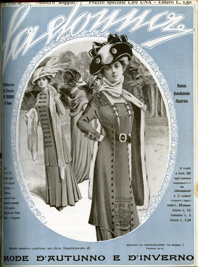 La donna. Rivista quindicinale illustrata 1909, n. 116