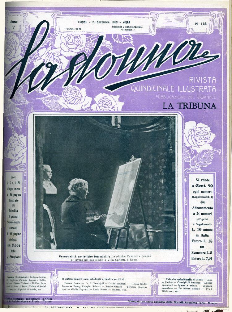 La donna. Rivista quindicinale illustrata 1909, n. 118