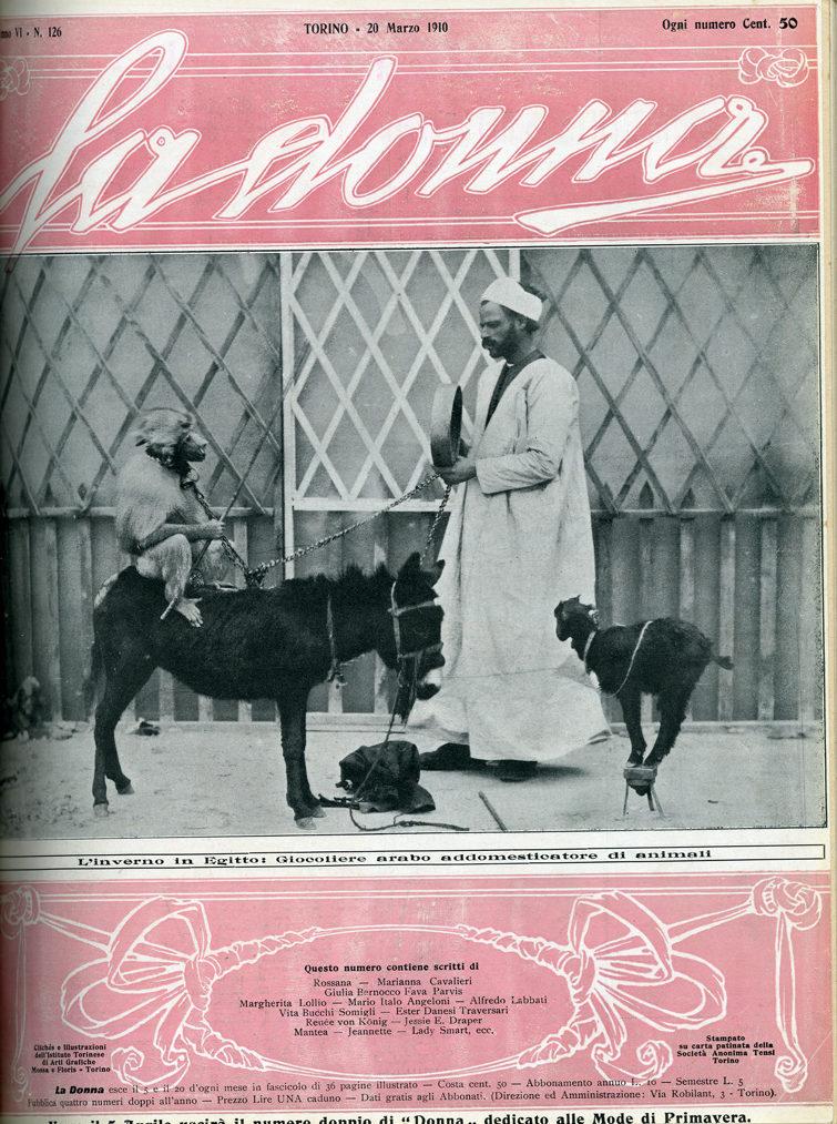 La donna. Rivista quindicinale illustrata 1910, n. 126