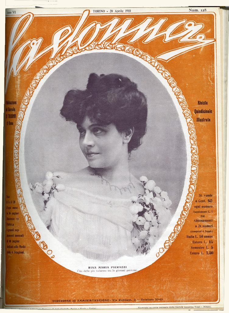 La donna. Rivista quindicinale illustrata 1910, n. 128