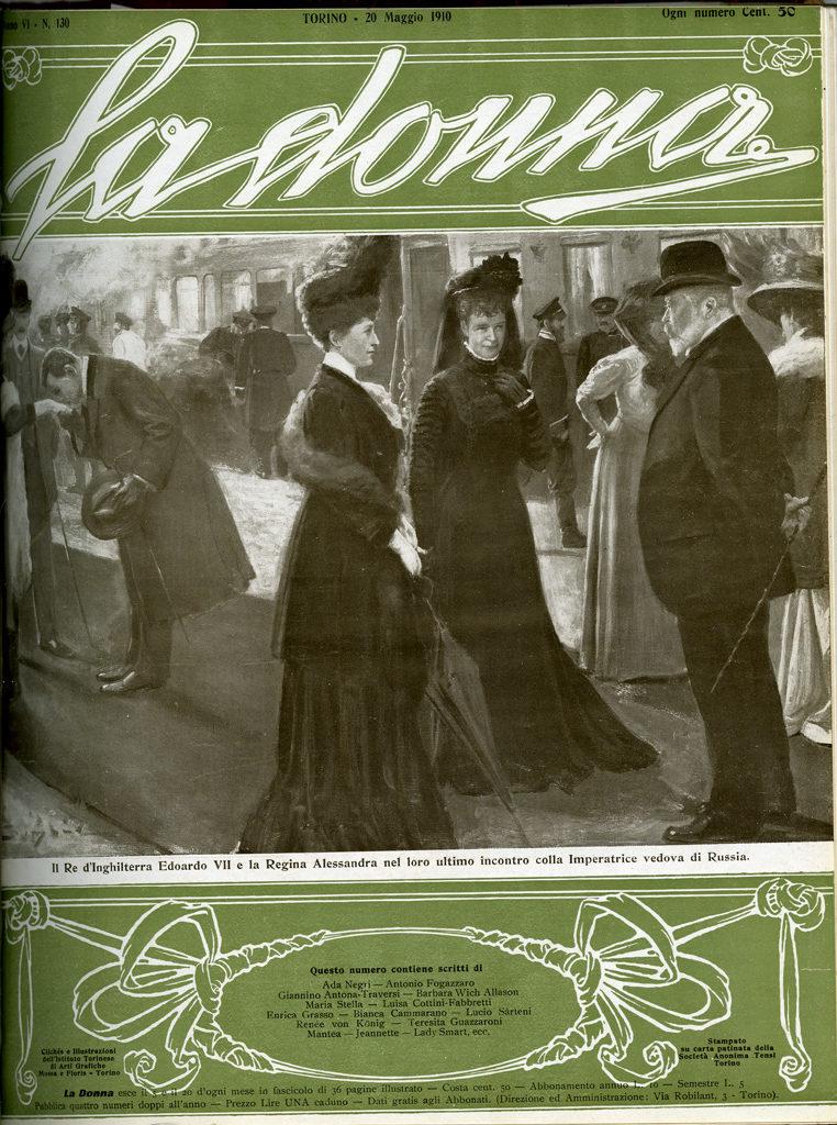La donna. Rivista quindicinale illustrata 1910, n. 130