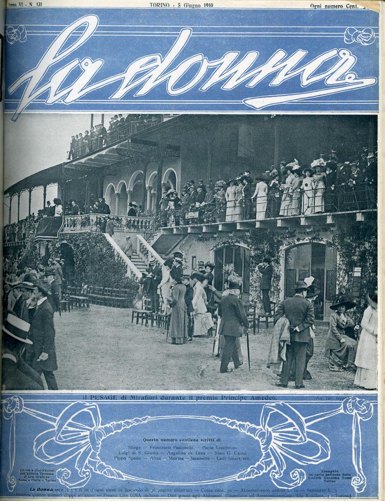 La donna. Rivista quindicinale illustrata 1910, n. 131