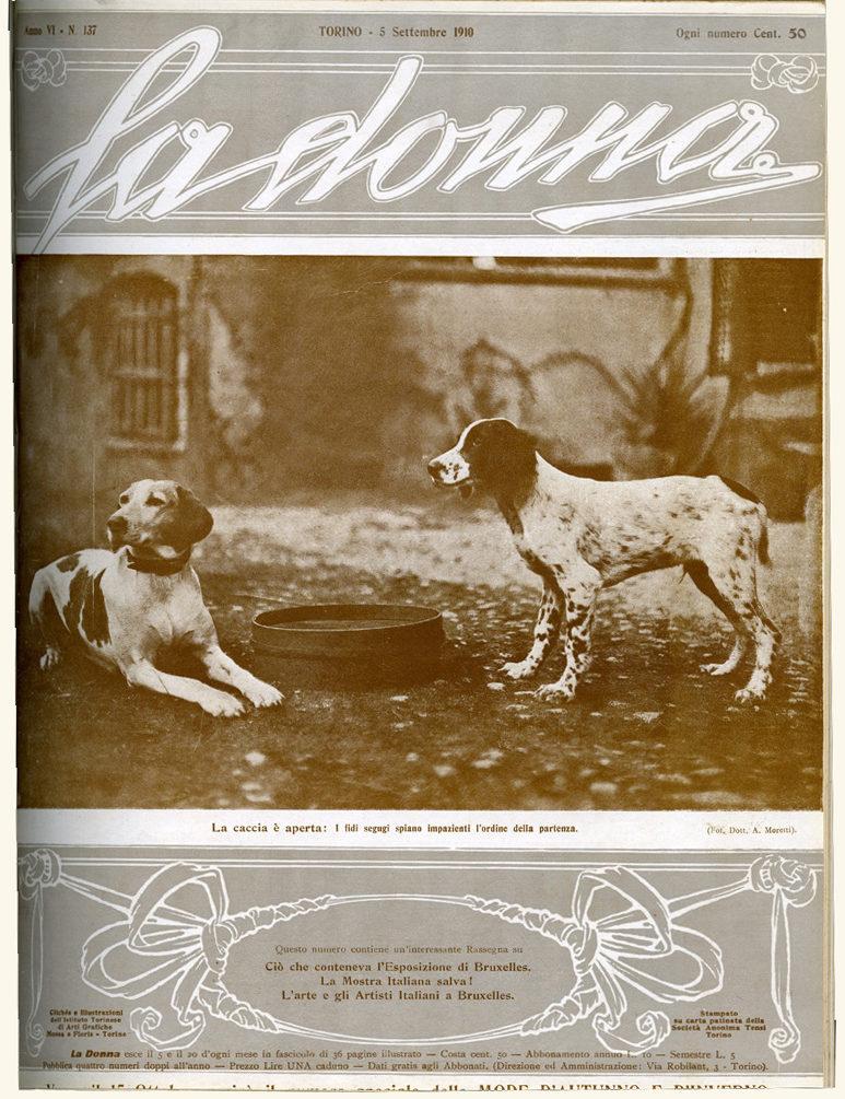 La donna. Rivista quindicinale illustrata 1910, n. 137