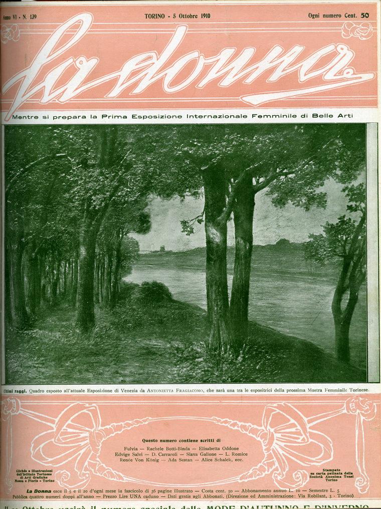 La donna. Rivista quindicinale illustrata 1910, n. 139
