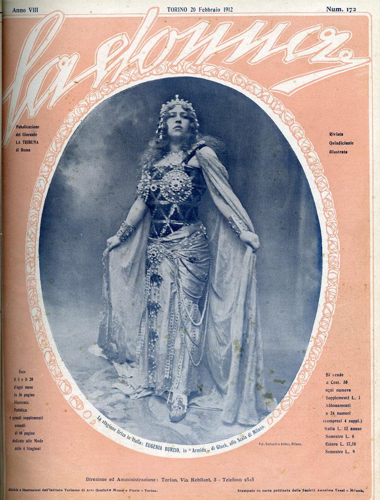 La donna. Rivista quindicinale illustrata 1912, n. 172