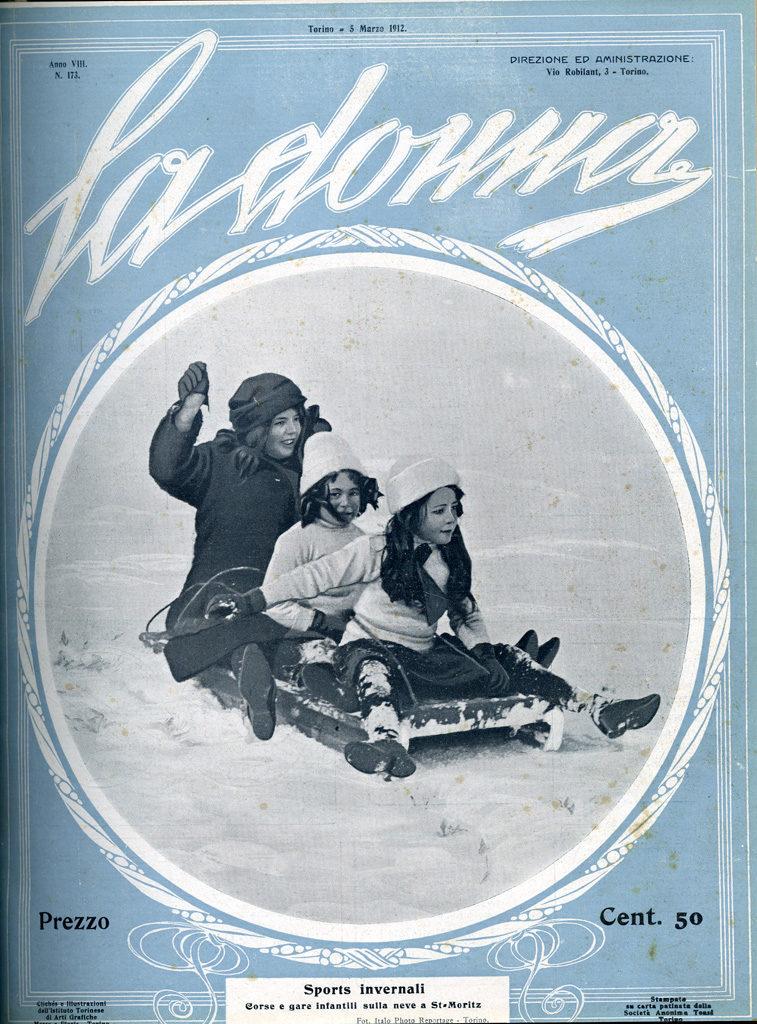 La donna. Rivista quindicinale illustrata 1912, n. 173