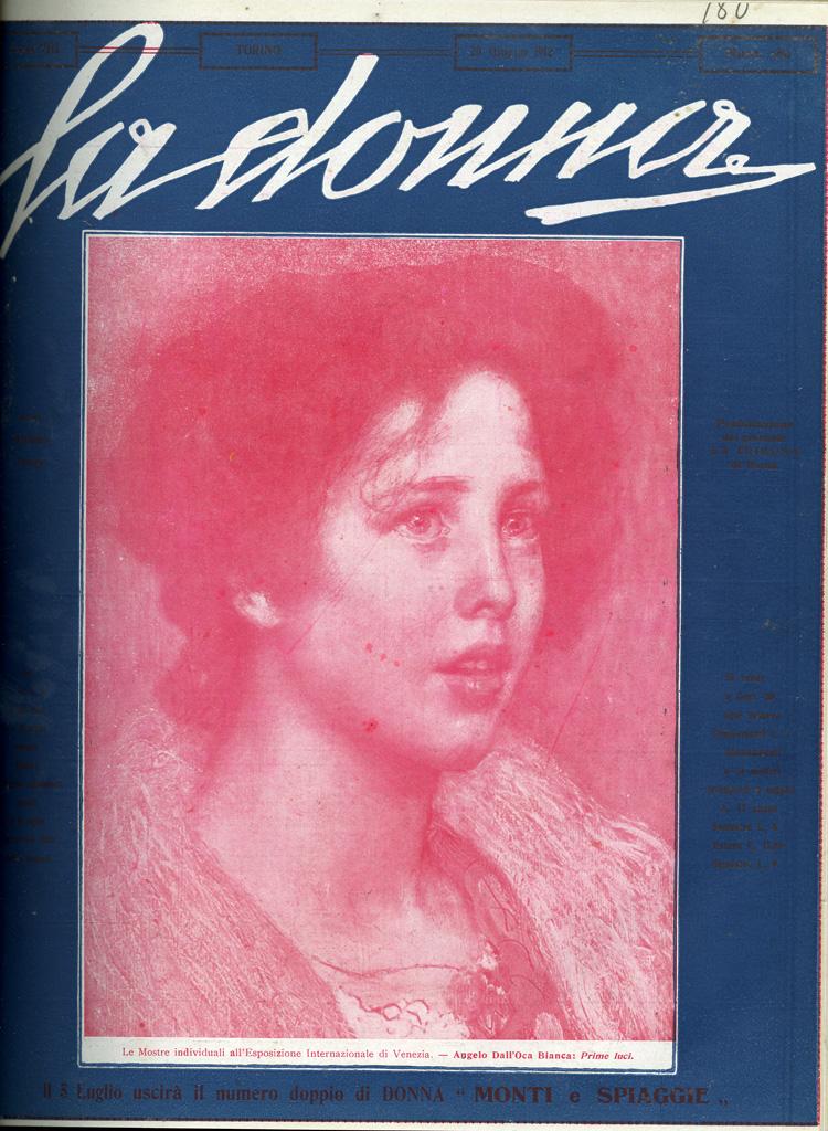 La donna. Rivista quindicinale illustrata 1912, n. 180