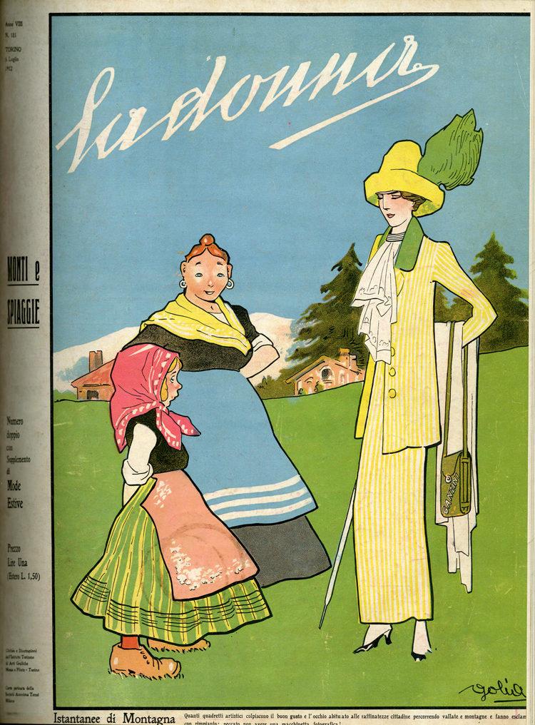 La donna. Rivista quindicinale illustrata 1912, n. 181