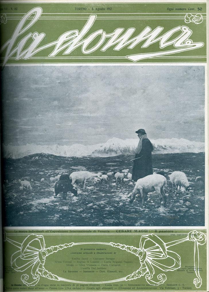 La donna. Rivista quindicinale illustrata 1912, n. 183