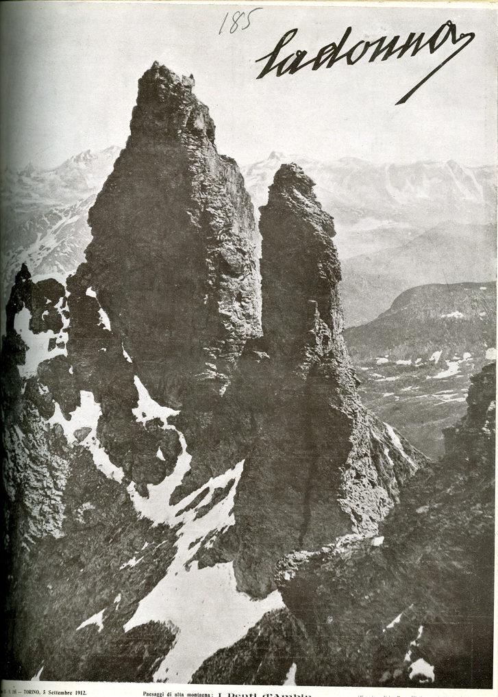 La donna. Rivista quindicinale illustrata 1912, n. 185