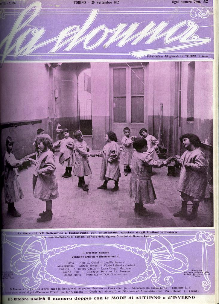 La donna. Rivista quindicinale illustrata 1912, n. 186