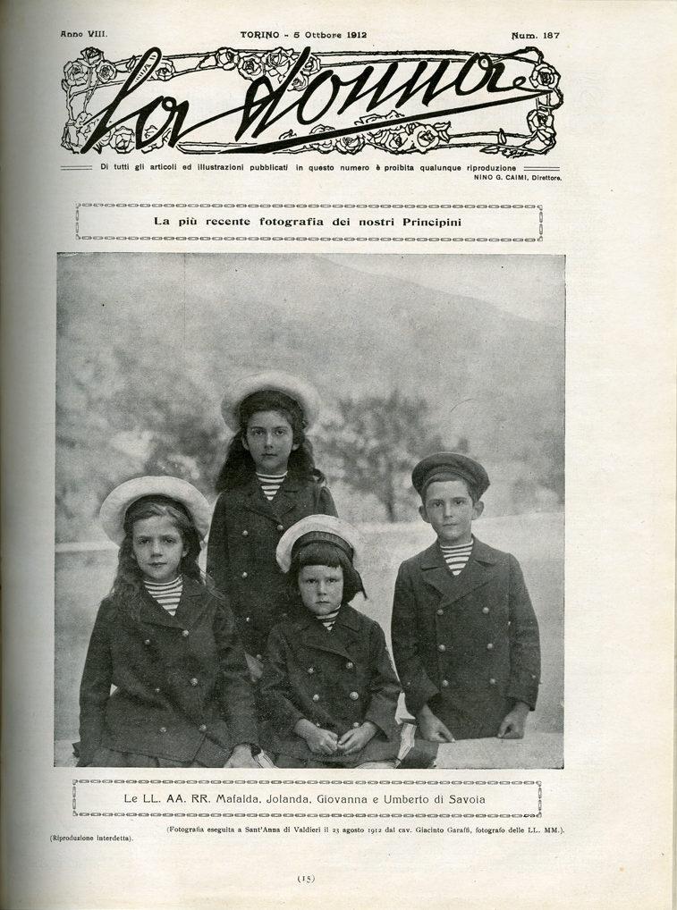 La donna. Rivista quindicinale illustrata 1912, n. 187