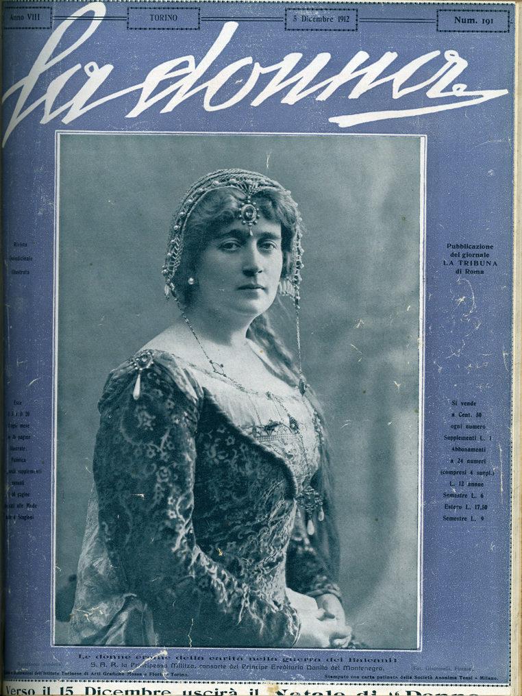 La donna. Rivista quindicinale illustrata 1912, n. 191