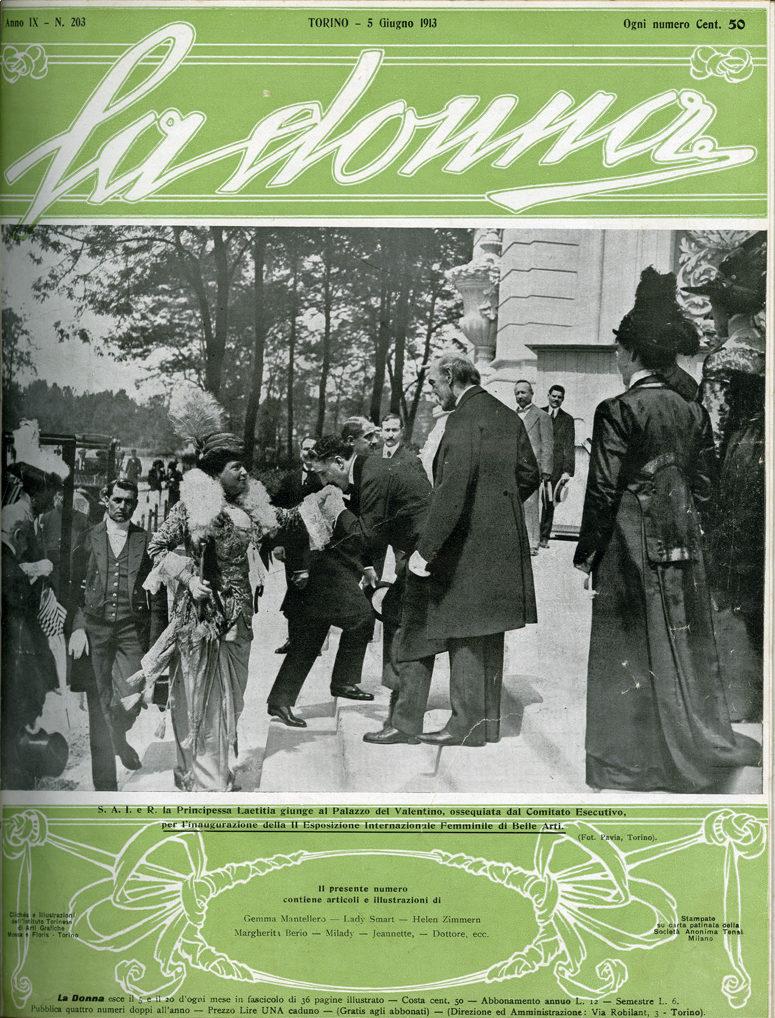 La donna. Rivista quindicinale illustrata 1913, n. 203