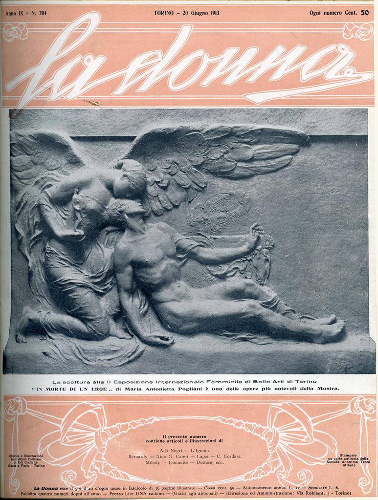 La donna. Rivista quindicinale illustrata 1913, n. 204