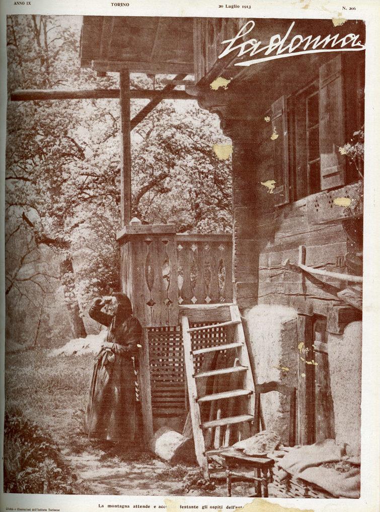 La donna. Rivista quindicinale illustrata 1913, n. 206