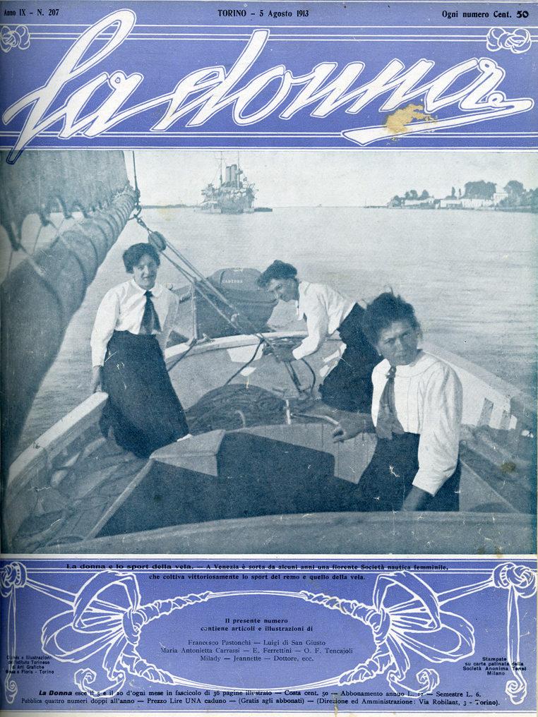 La donna. Rivista quindicinale illustrata 1913, n. 207