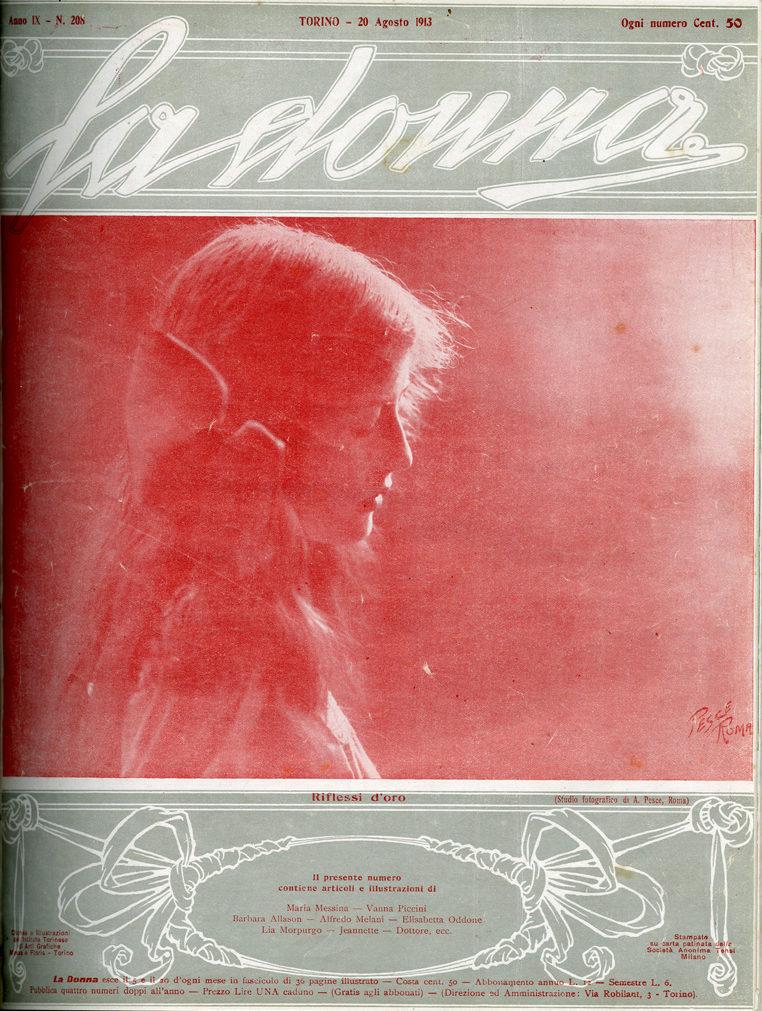 La donna. Rivista quindicinale illustrata 1913, n. 208