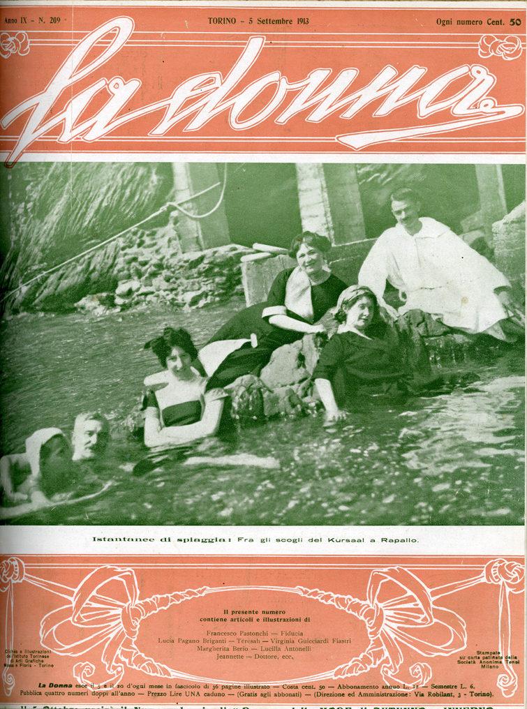 La donna. Rivista quindicinale illustrata 1913, n. 209