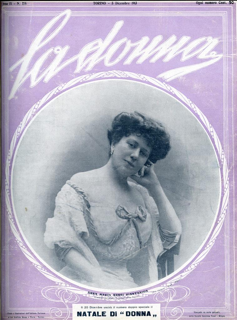 La donna. Rivista quindicinale illustrata 1913, n. 215