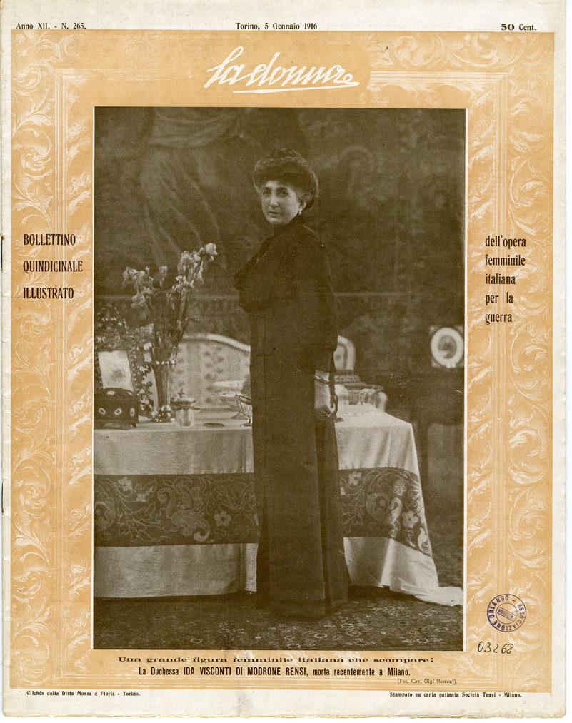 La donna. Rivista quindicinale illustrata 1916, n. 265