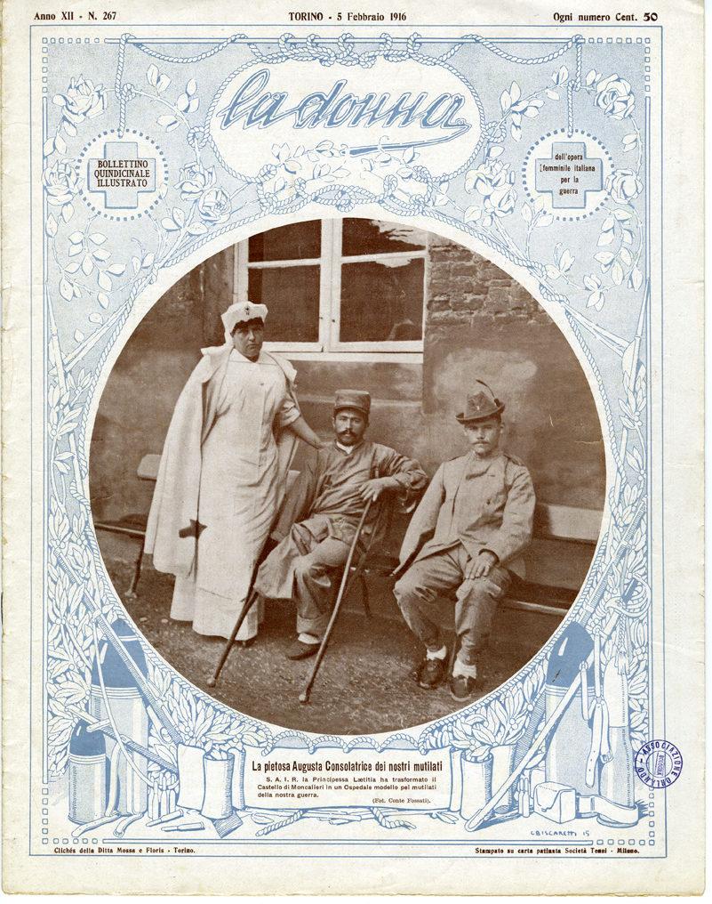 La donna. Rivista quindicinale illustrata 1916, n. 267