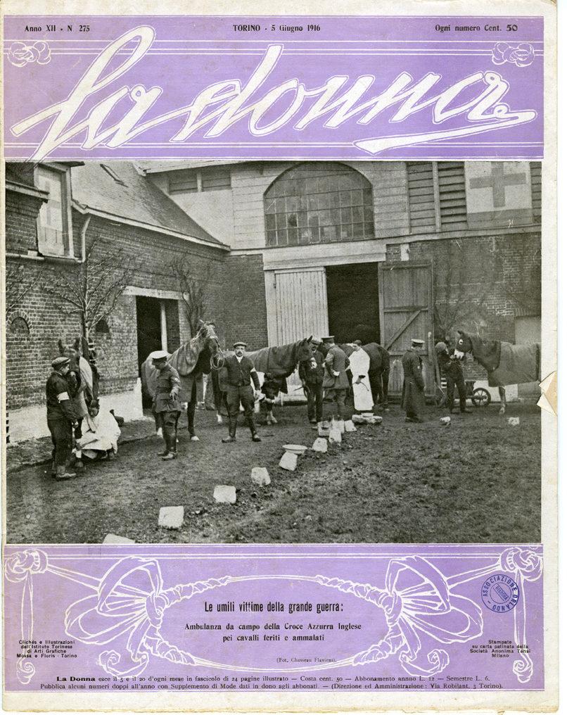 La donna. Rivista quindicinale illustrata 1916, n. 275