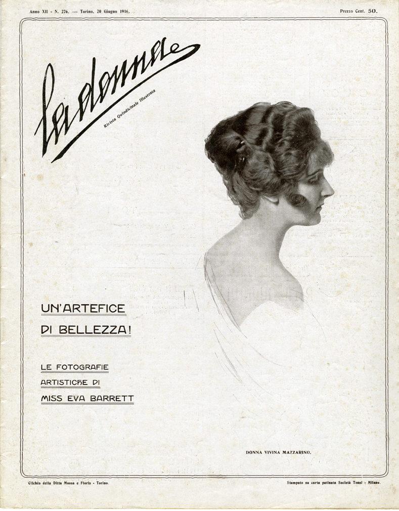 La donna. Rivista quindicinale illustrata 1916, n. 276