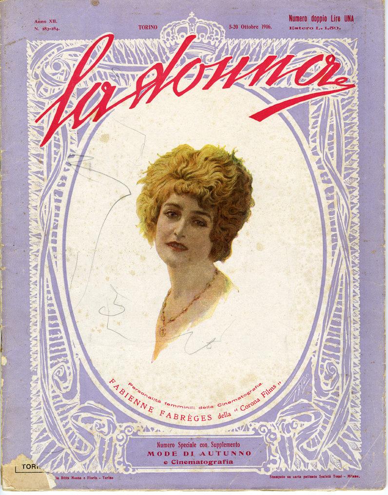 La donna. Rivista quindicinale illustrata 1916, n. 283-284