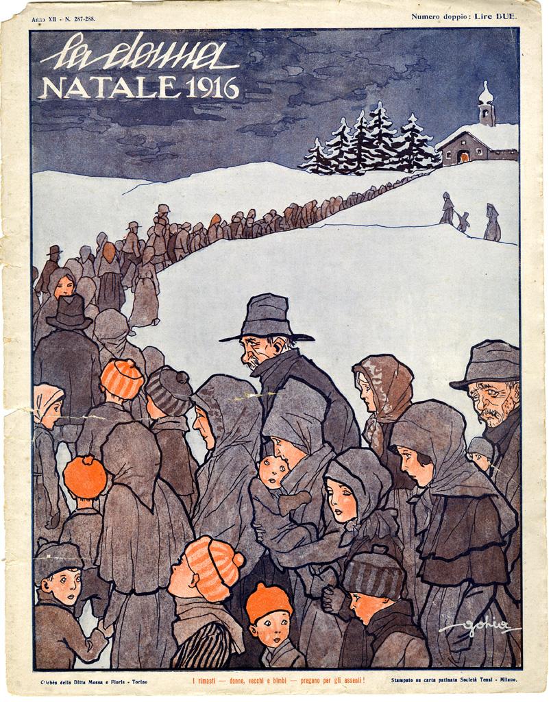 La donna. Rivista quindicinale illustrata 1916, n. 287-288