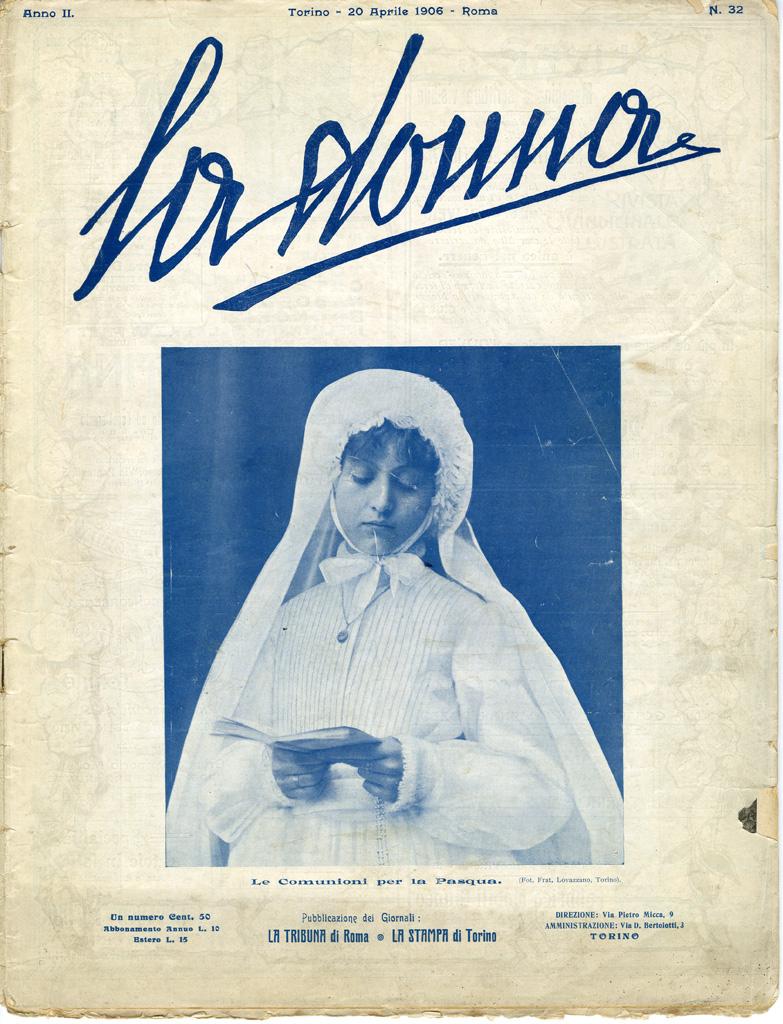 La donna. Rivista quindicinale illustrata 1906, n. 32