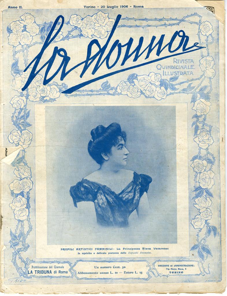 La donna. Rivista quindicinale illustrata 1906, n. 38