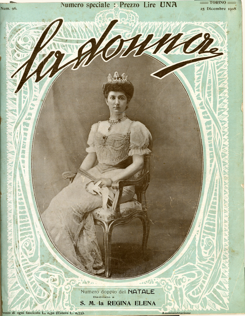 La donna. Rivista quindicinale illustrata 1908, n. 96