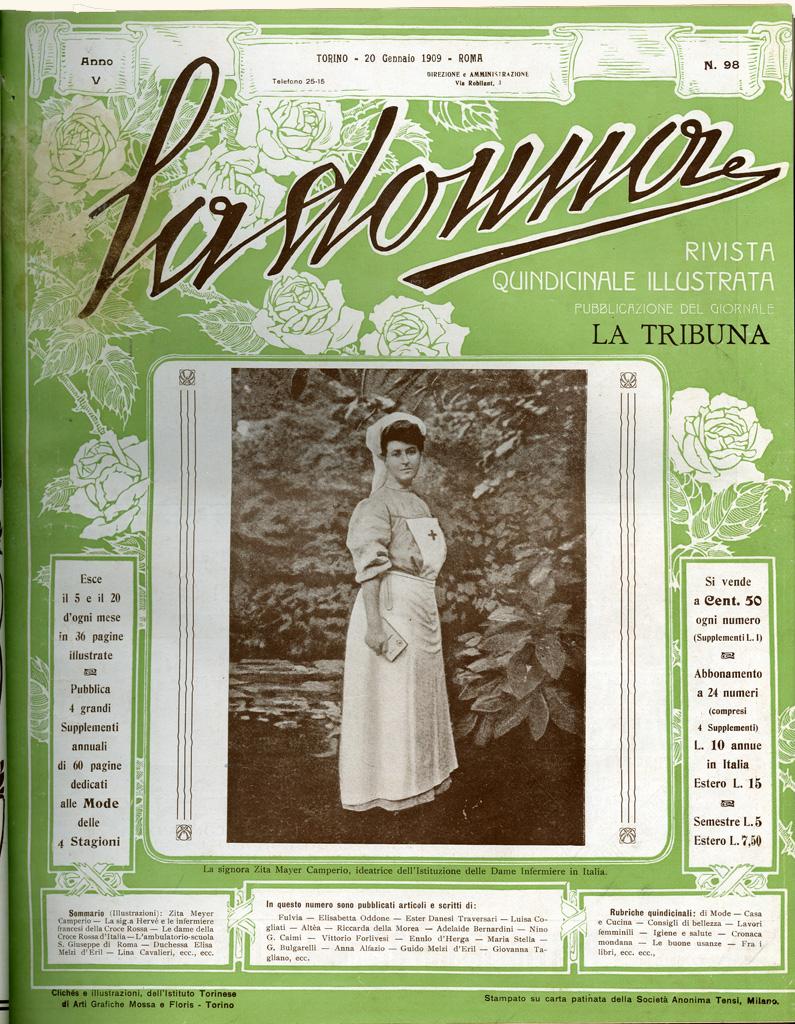 La donna. Rivista quindicinale illustrata 1909, n. 98