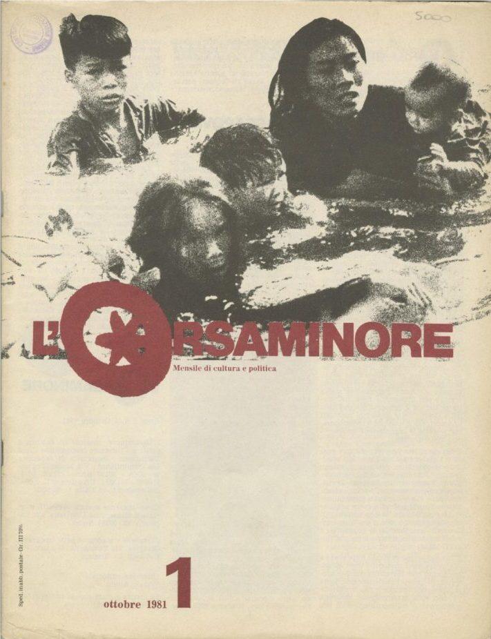 L'Orsaminore. Mensile di cultura e politica 1981, n. 1