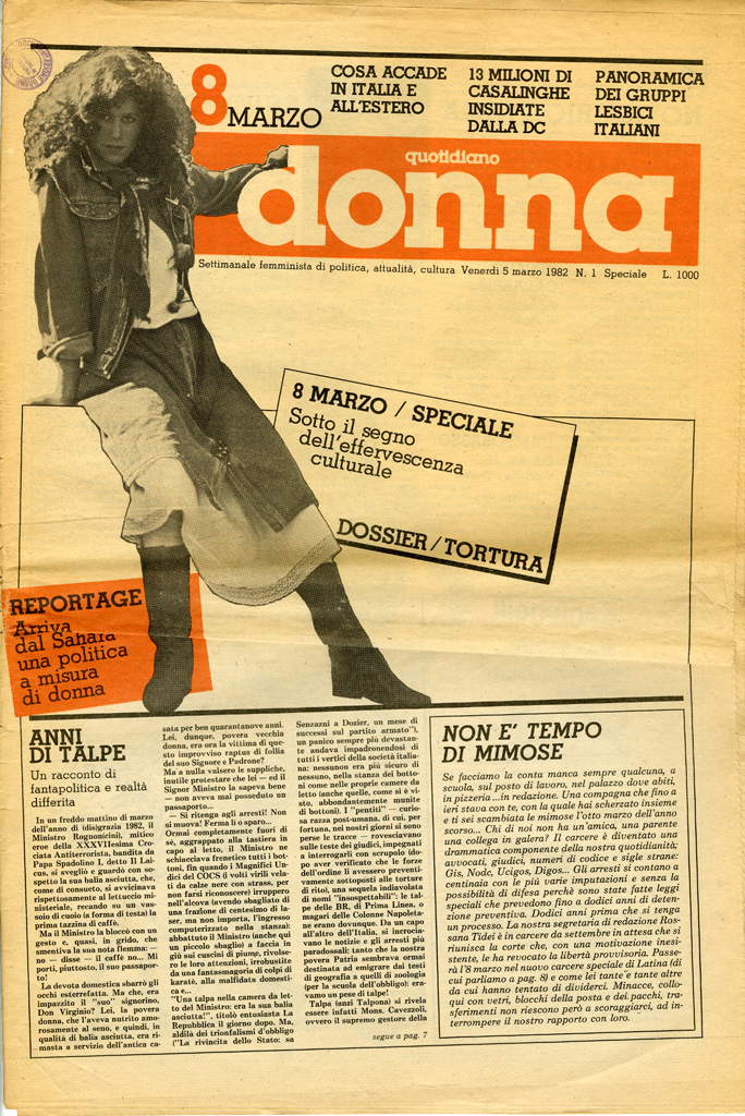 Quotidiano donna 1982, n. 1