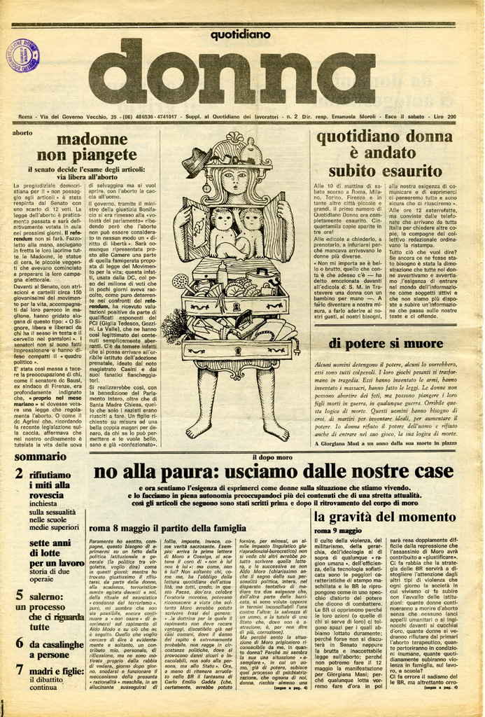 Quotidiano donna 1978, n. 2
