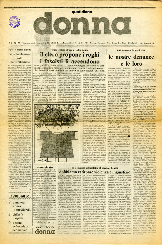 Quotidiano donna 1979, n. 2